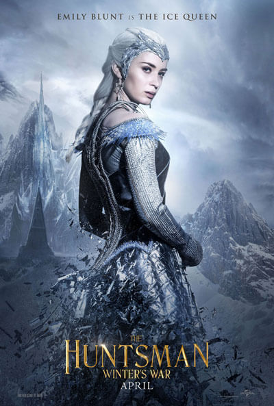 The Huntsman Emily Blunt Poster
