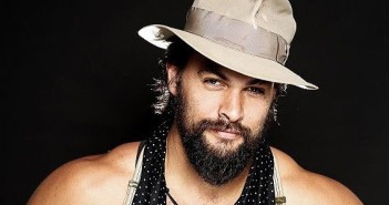 Jason Momoa wearing a hat