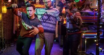 The Night Before Joseph Gordon-Levitt Seth Rogen Anthony Mackie