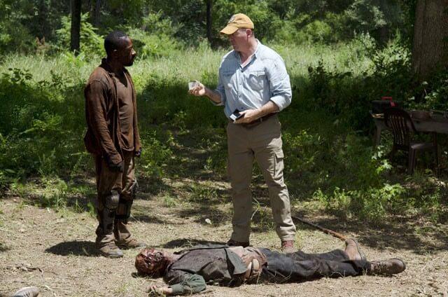 Lennie James John Carroll Lynch Walking Dead
