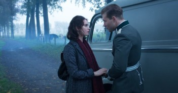 Lily James and Jai Courtney in Kaiser's Last Kiss