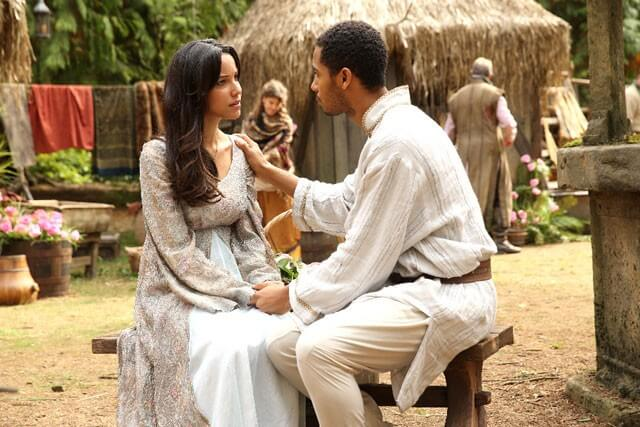 Once Upon a Time Caroline Ford, Elliot Knight Photo