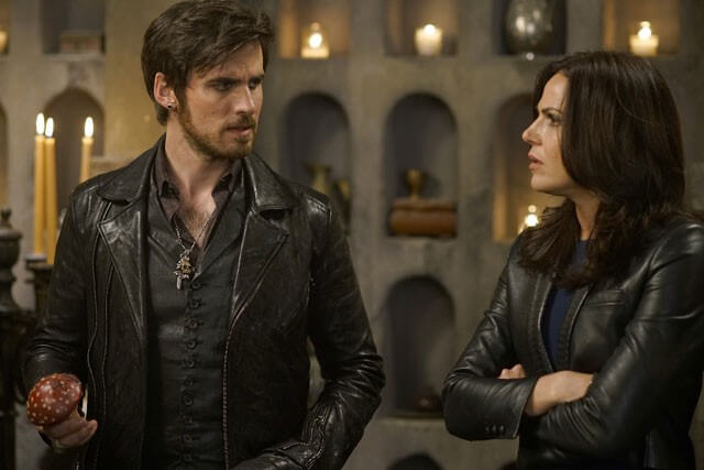 Once Upon a Time Colin O'Donoghue Lana Parrilla