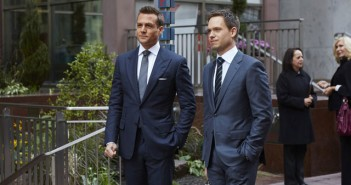 Suits Season 5 Gabriel Macht and Patrick J Adams