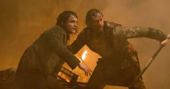 Victor Frankenstein James McAvoy and Daniel Radcliffe
