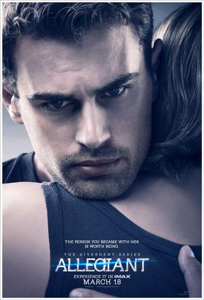 Theo James Allegiant Poster