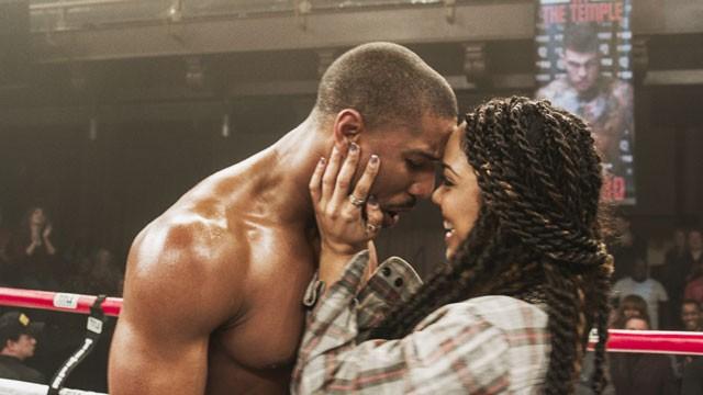 Michael B Jordan, Tessa Thompson in Creed