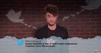 Daniel Radcliffe Reads Mean Tweets