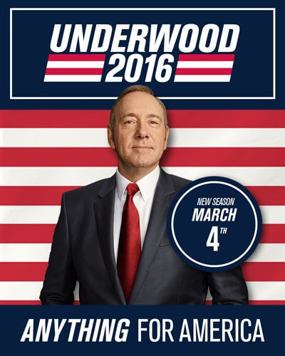 House of Cards Season 4 Poster