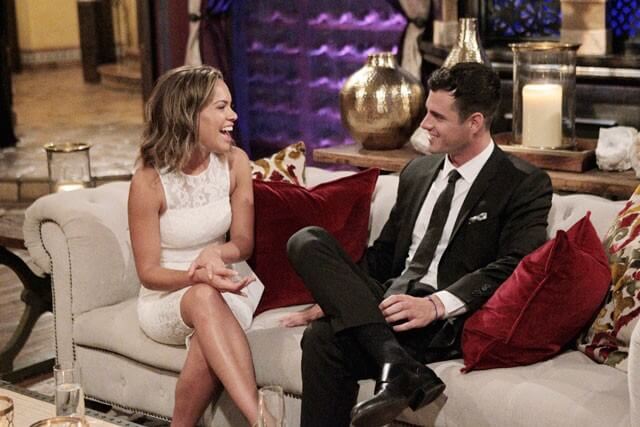Jami and Ben Higgins in The Bachelor Season 20