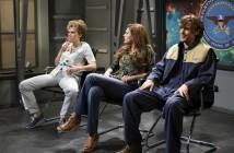 Kate McKinnon, Cecily Strong, Ryan Gosling Saturday Night Live Alien Abduction