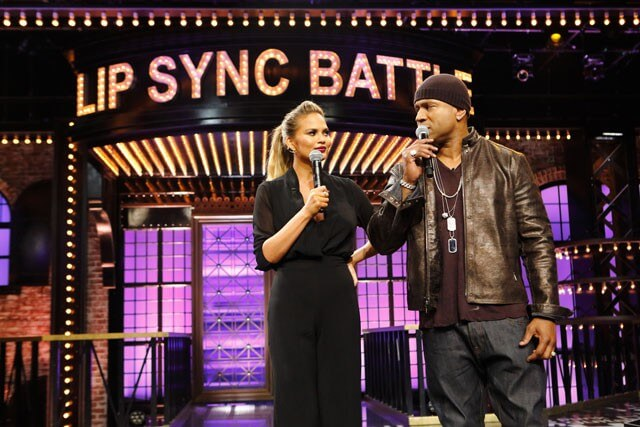 Chrissy Teigen and LL Cool J