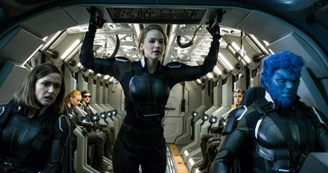 X Men Apocalypse Jennifer Lawrence, Rose Byrne