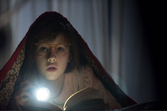 Ruby Barnhill in The BFG