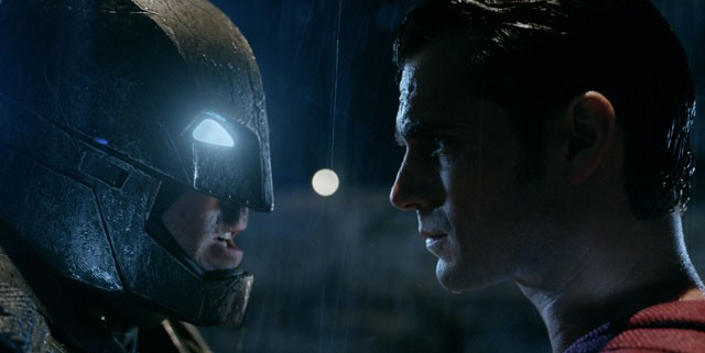 Batman vs Superman Ben Affleck, Henry Cavill Face to Face