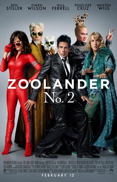 Zoolander 2 Cast Poster