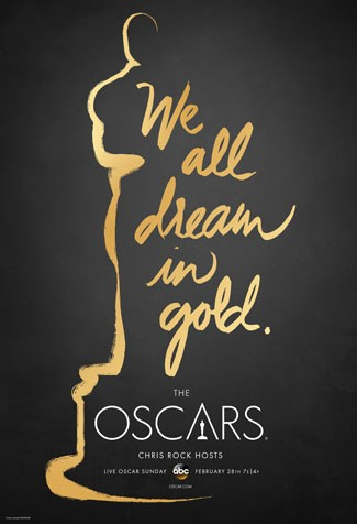2016 Oscars Poster