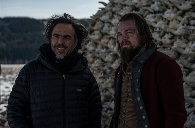 The Revenant Alejandro Inarritu and Leonardo DiCaprio