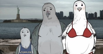 Pigeons in HBO's Animals TV Series