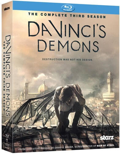 Da Vinci's Demons Season 3 on blu-ray