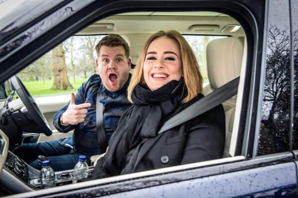 Adele and James Corden Carpool Karaoke