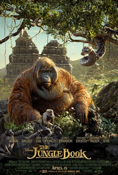 Jungle Book King Louie Kaa Poster