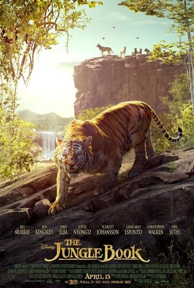 Jungle Book Shere Khan Poster