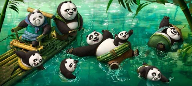 Kung Fu Panda 3 Panda Village