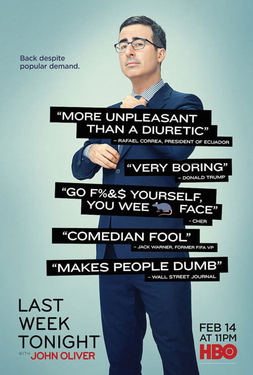Last Week Tonight Season 3 Poster