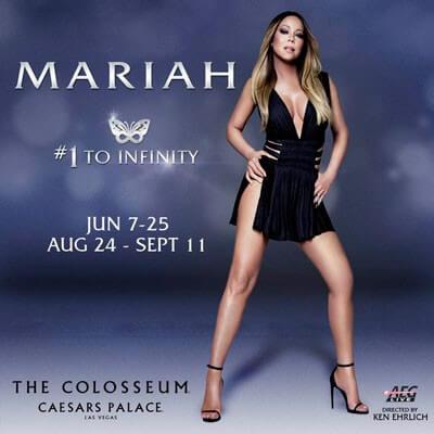 Mariah Carey at Caesars Palace