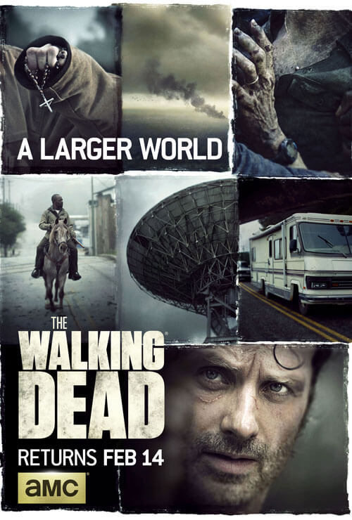 The Walking Dead Midseason 6 Poster
