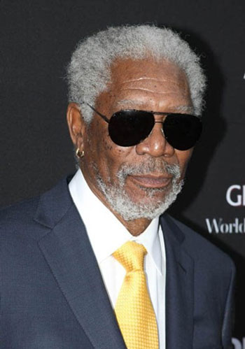 Morgan Freeman Olympus Has Fallen Premiere