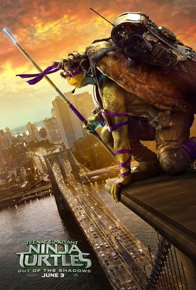 TMNT2 Donatello poster