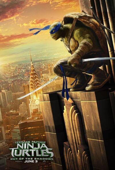TMNT 2 Poster Leonardo
