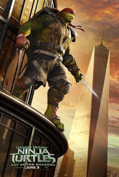 TMNT2 Raphael Poster