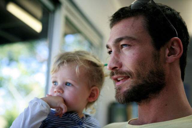Andy Whitfield in Be Here Now