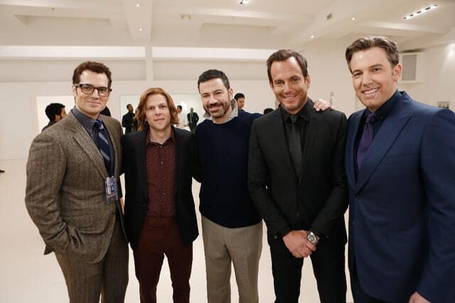 Batman Superman Deleted Jimmy Kimmel Scene