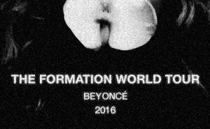 Beyonce The Formation World Tour Poster