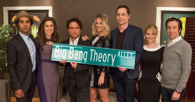 Big Bang Theory Street Sign