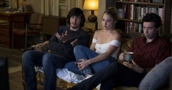 Adam Driver, Jemima Kirke, and Alex Karpovsky in 'Girls'