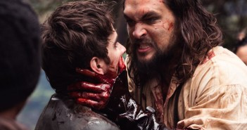 Landon Liboiron and Jason Momoa in Frontier