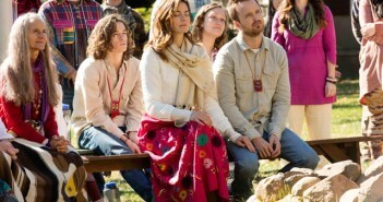 Michelle Monaghan and Aaron Paul in The Path