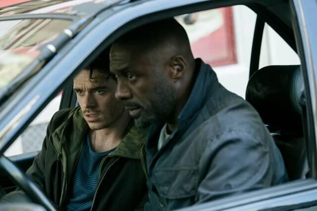 Richard Madden and Idris Elba in The Take