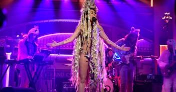 Miley Cyrus on SNL