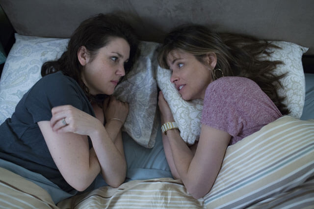 Melanie Lynskey and Amanda Peet Togetherness