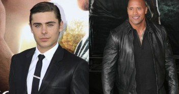 Zac Efron and Dwayne Johnson