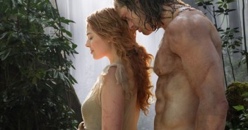 Alexander Skarsgard and Margot Robbie in Legend of Tarzan action movie