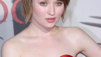 Emily Browning on a Red Carpet