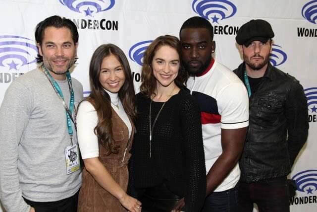 Wynonna Earp Cast Photo at WonderCon