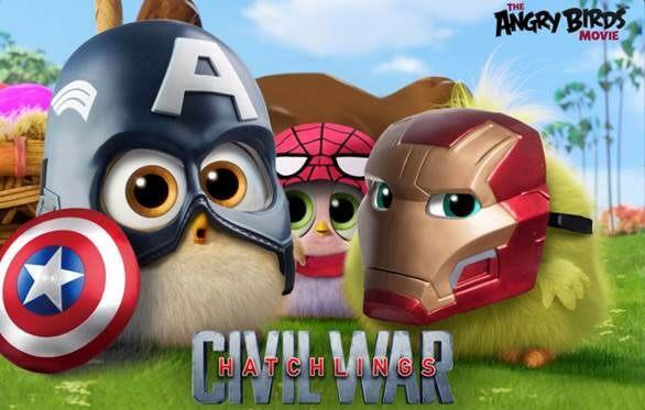 Angry Birds Hatchlings Superhero